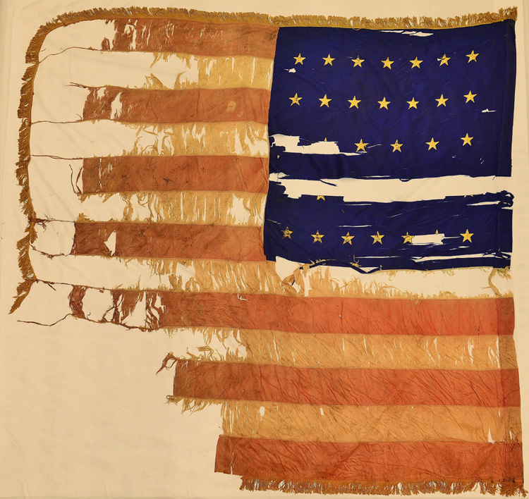 5th, 2nd, or 3rd Vermont Infantry, National Flag.jpg
