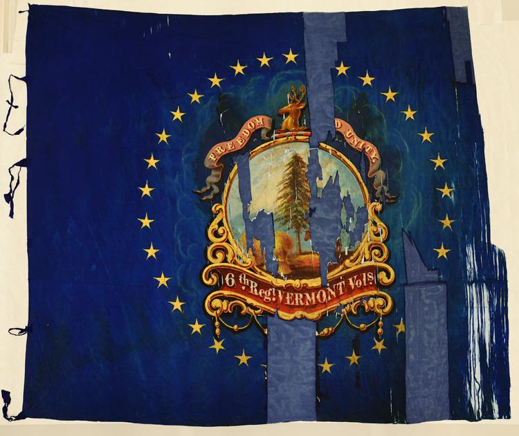 6th Vermont Infantry, Regimental Flag.jpg