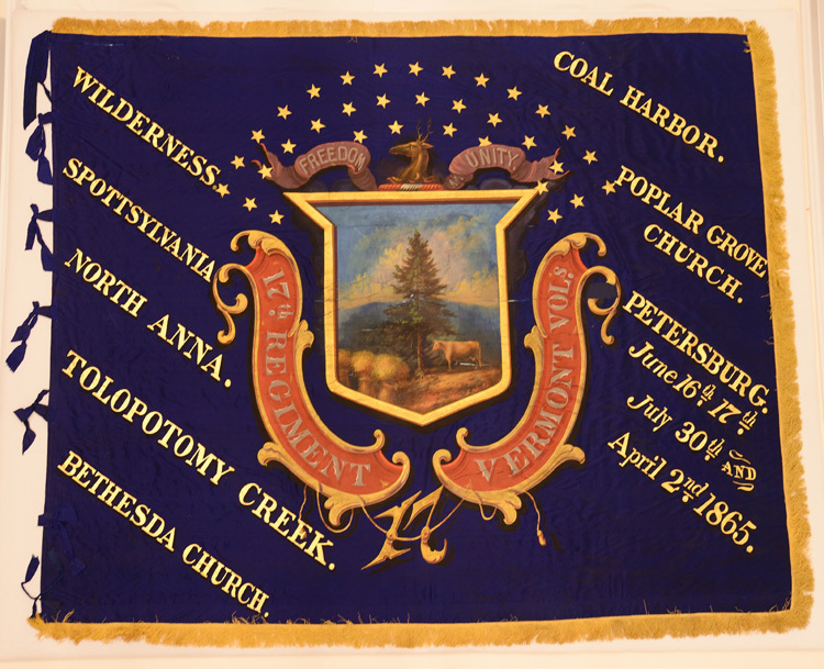 17th Vermont Infantry, Regimental Flag.jpg