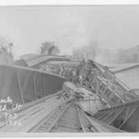 Central Vermont Wreck, Northfield, VT, Engine 703, May 3, 1936