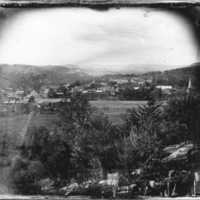 Brattleboro, Vt., from Chesterfield Mountain, N.H.