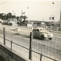 Stunt Car Accelerates