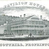 Pavilion House, Montpelier, Vt., M. Cottrill, Proprietor