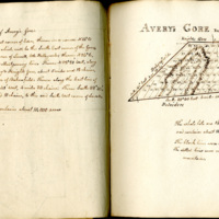 Plan of early lot owners of Avery's Gore, Vermont [cartographic material]